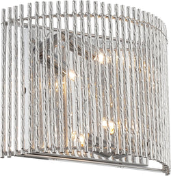 Lite Source Rania 2-Light Wall Lamp Chrome LS16578