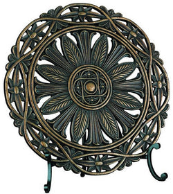 Lite Source Sebastian Traditional Charger Dark Bronze C41090