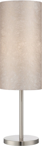 Lite Source Secia 1-Light Table Lamp Polished Silver LS22334