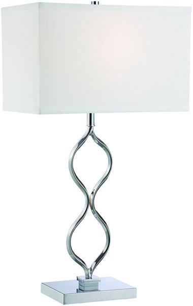 Lite Source Sheena 1-Light Table Lamp Chrome LS22386