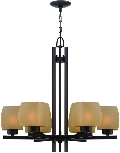Lite Source Solo 6-Light Chandelier Dark Bronze LS18486