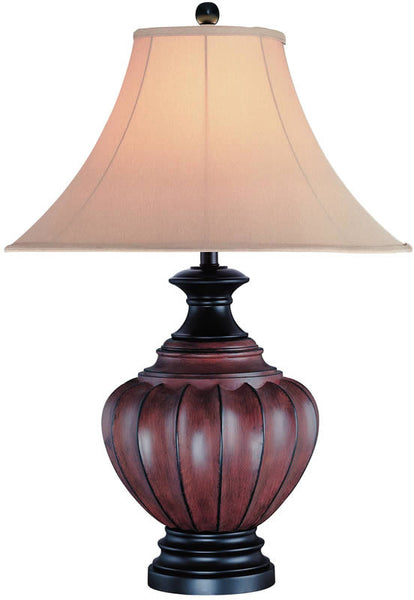 Lite Source Domenica Table Lamp Walnut C4973