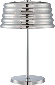 Lite Source Venice 3-Light Table Lamp Chrome EL30135