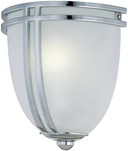 Lite Source Finnegan Fluorescent Wall Lamp Chrome LS16097CFRO