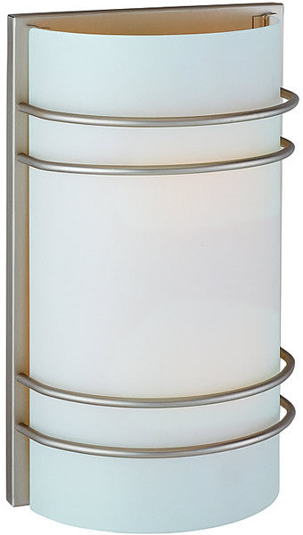 Lite Source Strokes Wall Sconce Stainless Steel LS16222SSFRO