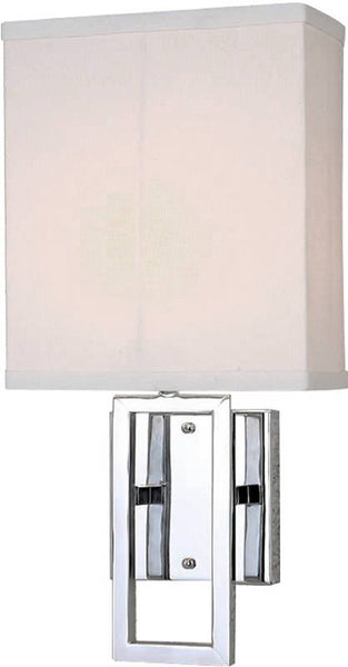 Lite Source Wall Lamp Chrome LS16585CWHT