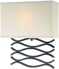 Lite Source Jaylee Fluorescent Wall Dark Bronze/Beige LS16917