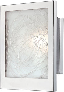 Lite Source Paola 1-Light Wall Lamp Chrome LS16949