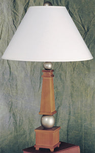 Lite Source York Wood Table Lamp Wood LS3459HONSIL