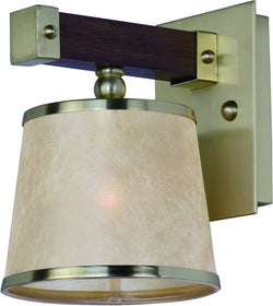Maxim Maritime 1-Light Wall Sconce 20521AFAPSBR