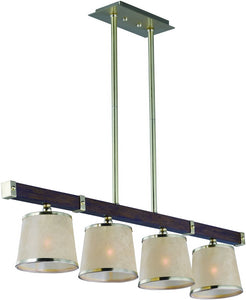 Maritime 4-light Linear Chandelier