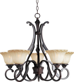 Maxim Allentown 5-Light Chandelier Oil Rubbed Bronze 13505WSOI