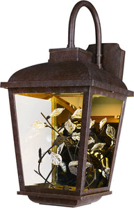 Maxim Arbor LED 2-Light Outdoor Wall Lantern Adobe 53504CLAE