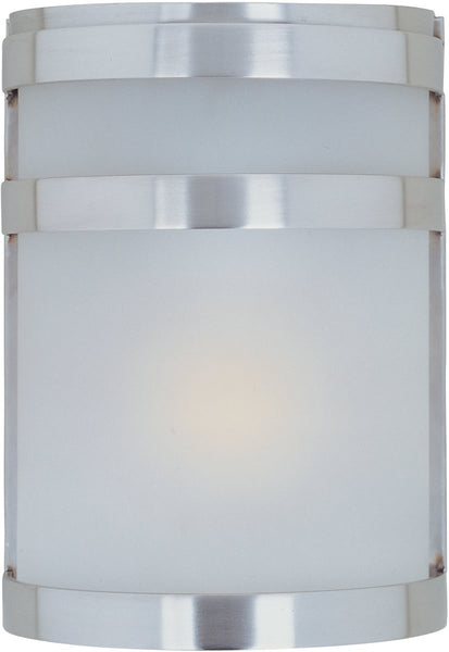 Maxim Arc LED 1-Light Outdoor Wall Lantern Stainless Steel 56005FTSST