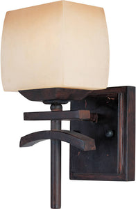 "6""w Asiana 1-Light Wall Sconce Roasted Chestnut"