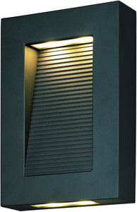 Maxim Avenue LED Outdoor Wall Lantern Architectural Bronze 54350ABZ