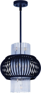 Aviary LED 12-Light Pendant Anthracite