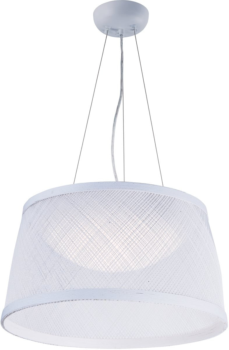 Bahama 1-Light Pendant White