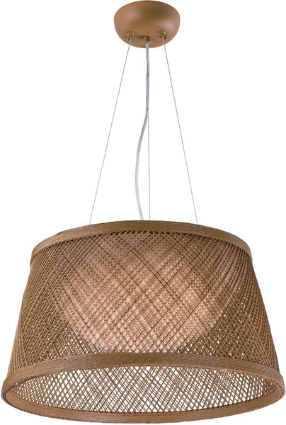 Maxim Bahama 1-Light Pendant Natural 54374NA