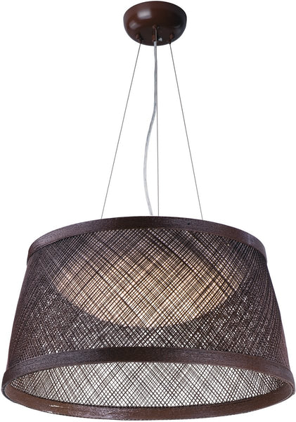 Maxim Bahama 1-Light Pendant Chocolate 54376CH