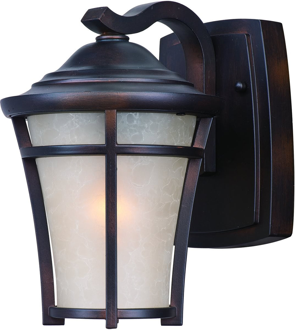 "10""H Balboa DC 1-Light Mini Outdoor Wall Copper Oxide"