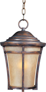 Maxim Balboa Vivex 1-Light Outdoor Hanging Lantern Copper Oxide 40167GFCO