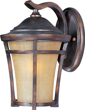 "14""H Balboa Vivex 1-Light Outdoor Wall Mount Copper Oxide"