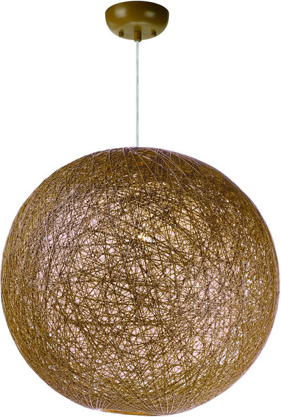 Maxim Bali 1-Light Chandelier Natural 14405NAWT