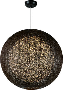 Maxim Bali 1-Light Chandelier Chocolate 14407CHWT