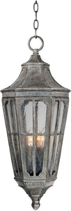 "13""W Beacon Hill Vivex 3-Light Outdoor Hanging Lantern Sienna"