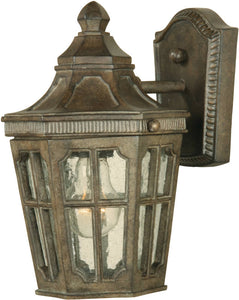"11""H Beacon Hill Vivex 1-Light Outdoor Wall Mount Sienna"