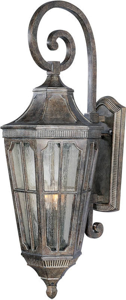 "31""h Beacon Hill Vivex 3-Light Outdoor Wall Mount Sienna"