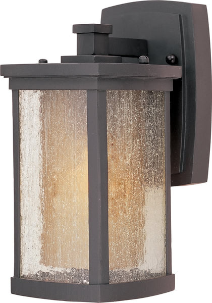 Maxim Bungalow EE 1-Light Fluorescent Outdoor Wall Light Bronze 85652CDWSBZ