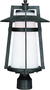 Maxim Calistoga LED 1-Light Outdoor Post Light Adobe 88530SWAE