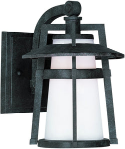 "10""h Calistoga 1-Light Outdoor Wall Mount Adobe"