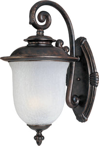 "18""h Cambria Cast 2-Light Outdoor Wall Mount Chocolate"