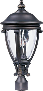 "23""h Camden VX 3-Light Outdoor Pole/Post Lantern Golden Bronze"