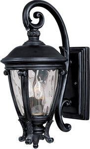 "19""H Camden Vivex 2-Light Outdoor Wall Mount Black"