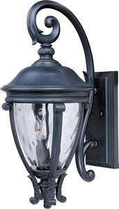 Maxim Camden VX 3-Light Outdoor Wall Lantern Black 41425WGBK