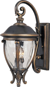 Maxim Camden Vivex 3-Light Outdoor Wall Mount Golden Bronze 41425WGGO