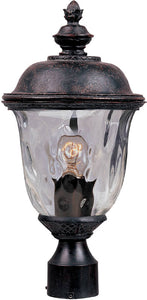 Maxim Carriage House Die-Cast Aluminum 1-Light Outdoor Pole/Post Mount Oriental Bronze 3426WGOB