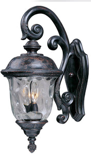 Maxim Carriage House Die-Cast Aluminum 3-Light Outdoor Wall Mount Oriental Bronze 3497WGOB