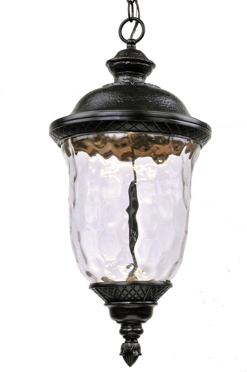 Carriage House LED Outdoor Hanging Lantern Oriental Bronze