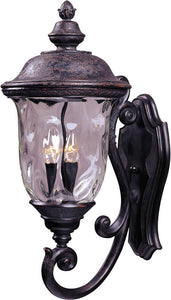 Maxim Carriage House Vivex 3-Light Outdoor Wall Mount Oriental Bronze 40424WGOB
