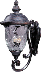 Maxim Carriage House Vivex 3-Light Outdoor Wall Mount Oriental Bronze 40425WGOB