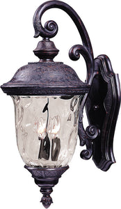 Maxim Carriage House Vivex 2-Light Outdoor Wall Mount Oriental Bronze 40496WGOB