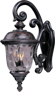 Maxim Carriage House Vivex 3-Light Outdoor Wall Mount Oriental Bronze 40497WGOB