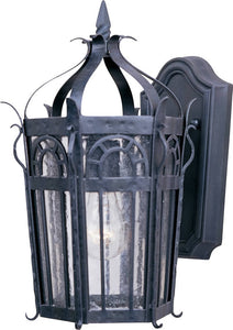 Maxim Cathedral 1-Light Outdoor Wall Lantern Country Forge 30041CDCF