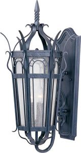 Maxim Cathedral 1-Light Outdoor Wall Lantern Country Forge 30042CDCF