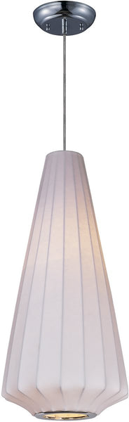 Maxim Cocoon 1-Light Pendant Polished Chrome 12184WTPC